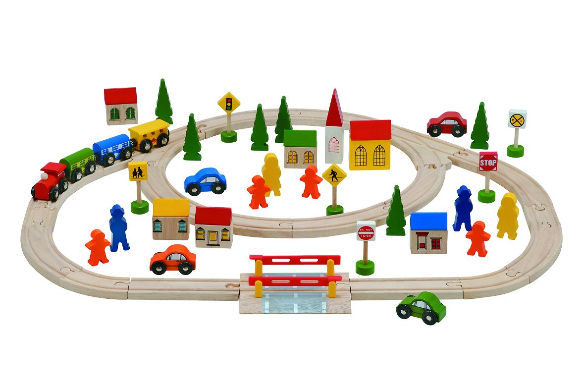 Woodpal Rakuten Global Market 3 Year Old Rail Amp Train Set 1