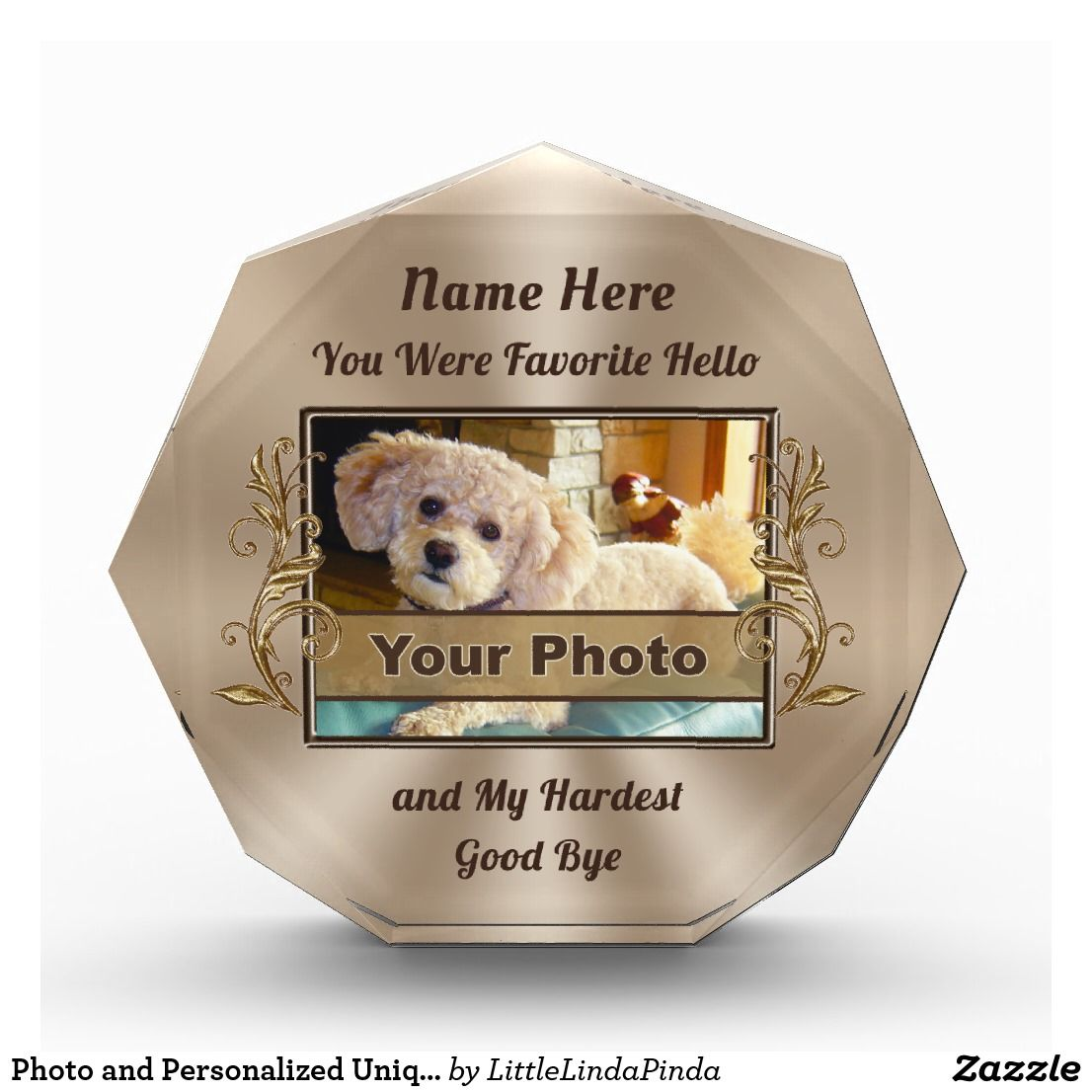 photo and personalized unique pet memorial gifts pet memorial