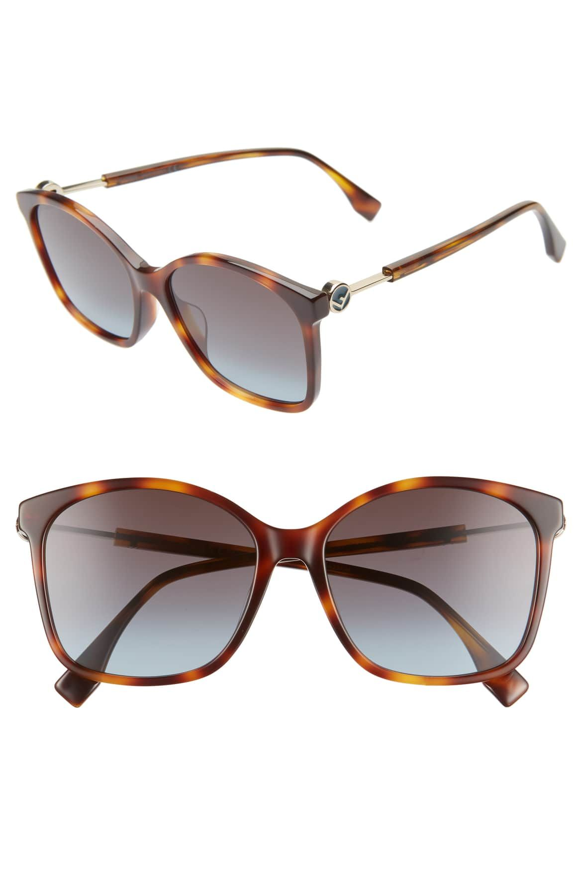 23c2fc2478c18 FENDI 57mm Special Fit Sunglasses