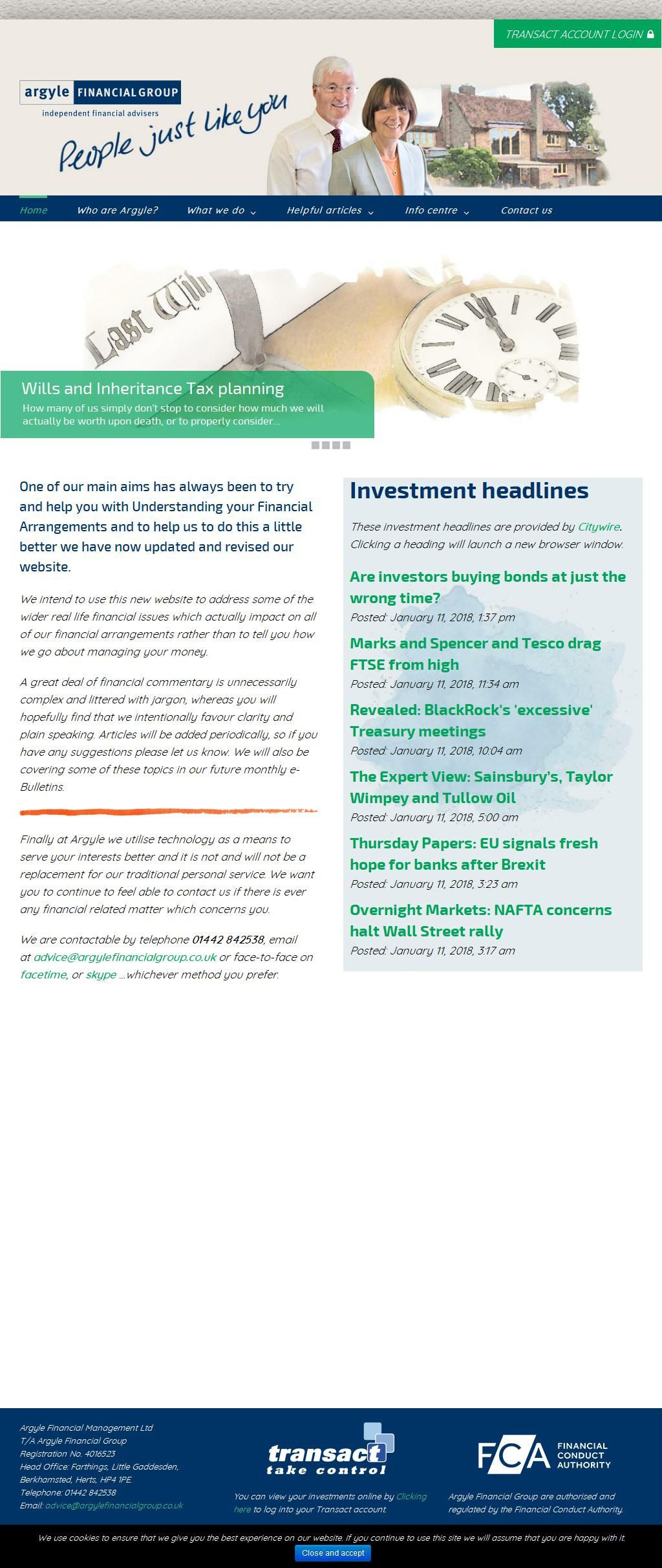 Argyle Financial Group Financial Advisers (Independents