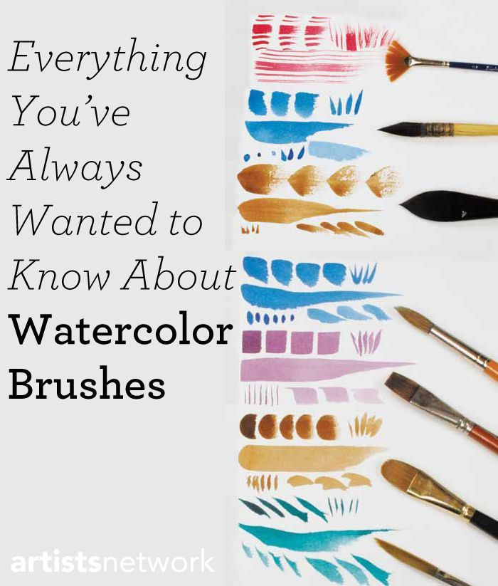 best watercolor paint brushes for beginner coloring page