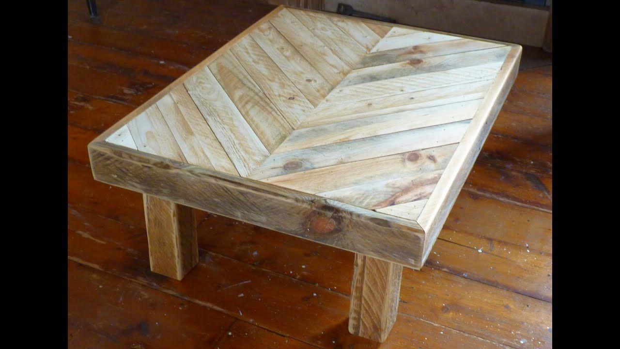 Tweakwood Making A Coffee Table Out Of Recycled Pallet Wood Wooden Pallet Coffee Table Coffee Table Out Of Pallets Wooden Crate Coffee Table [ 720 x 1280 Pixel ]
