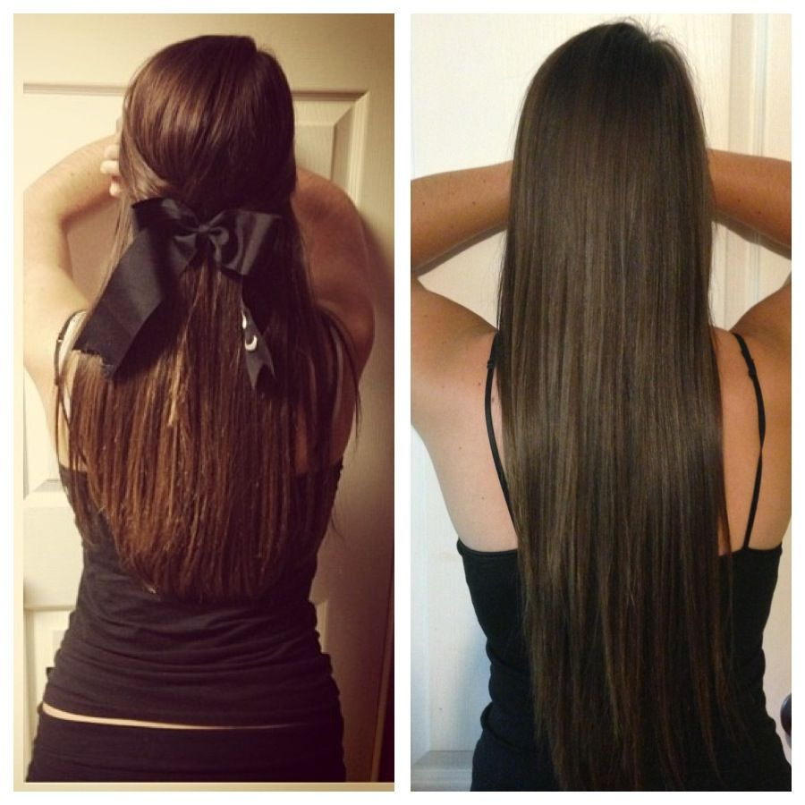 Before and after. Hair skin and nail vitamins | Hair, Hair treatment,  Beautiful long hair