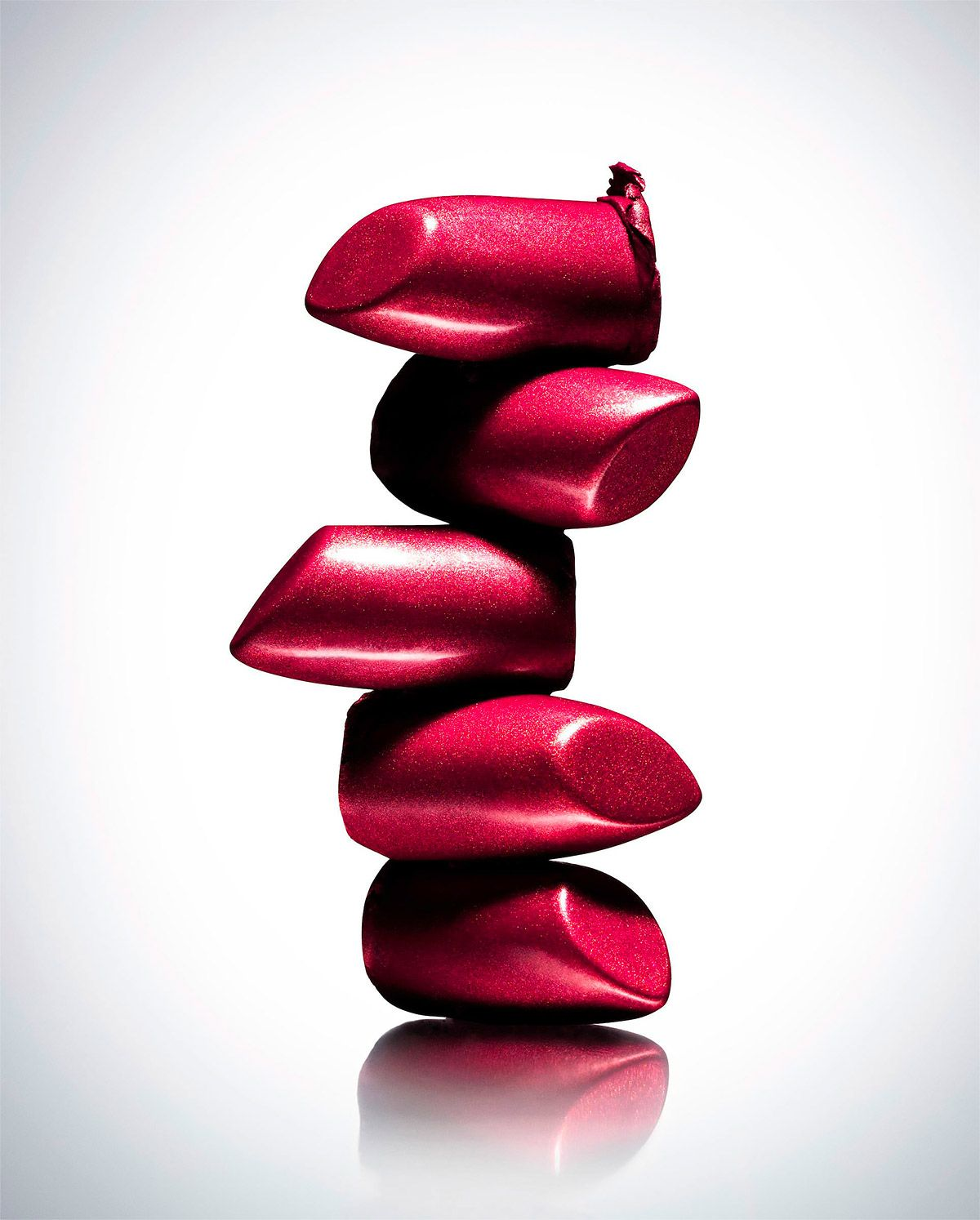 creative lipstick photography by daniel lindh