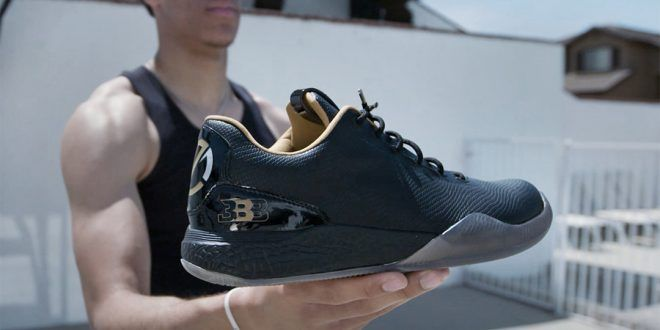 Ball Family Unveils First Big Baller Brand Basketball Shoe