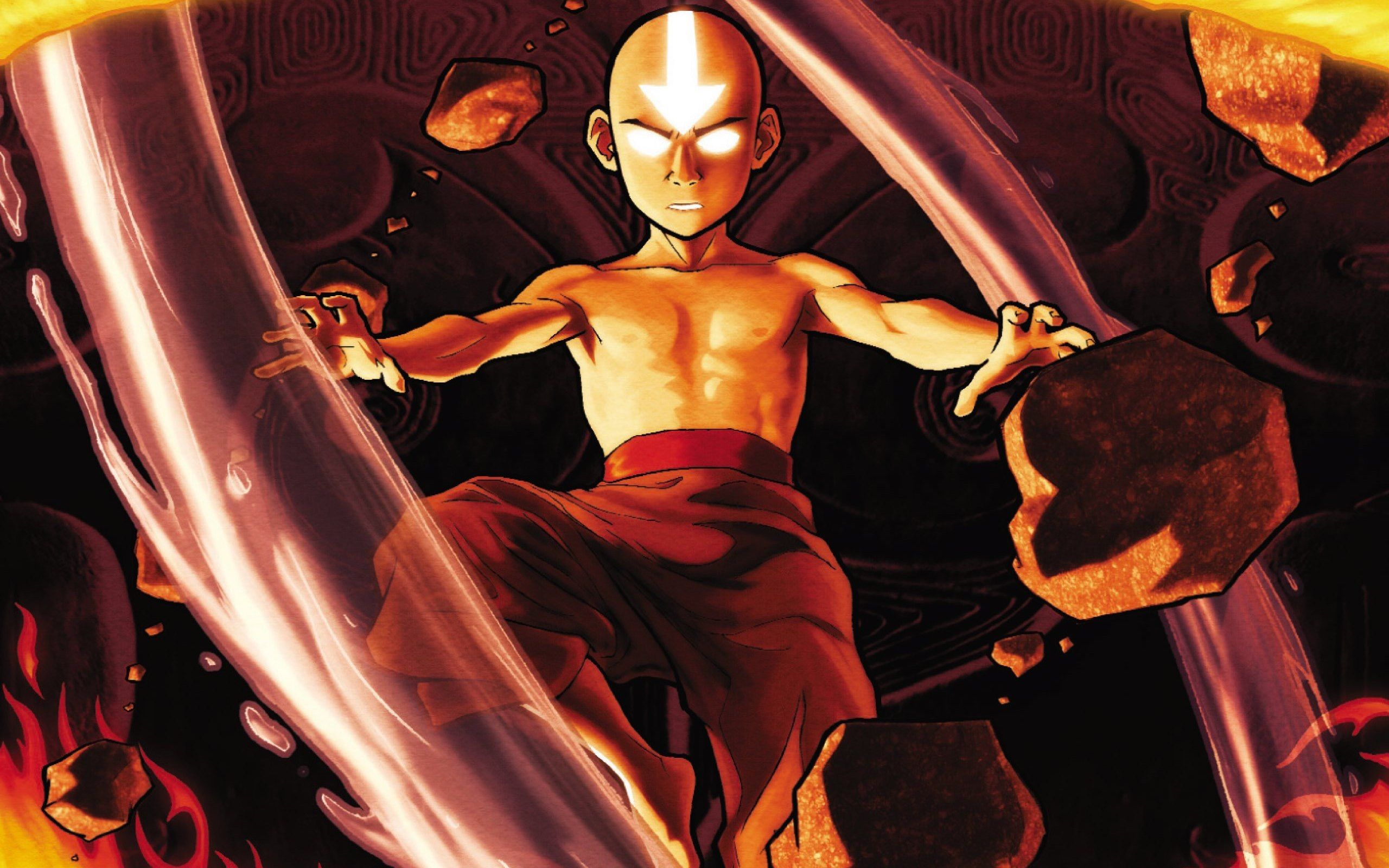 I M Currently Hyped So Have Some Wallpapers Avatar The Last Airbender Avatar Aang The Last Airbender Desktop wallpaper avatar last airbender