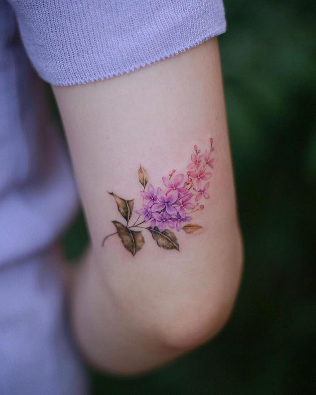 Pin By Christina Volo On Tattoo Lilac Tattoo Tattoos Cool Tattoos