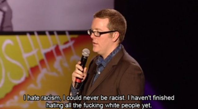 Frankie Boyle on racism
