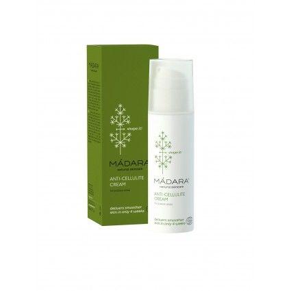 Crema anticelulítica y antiestrías es un producto de cosmética natural y ecológico de la marca Madara