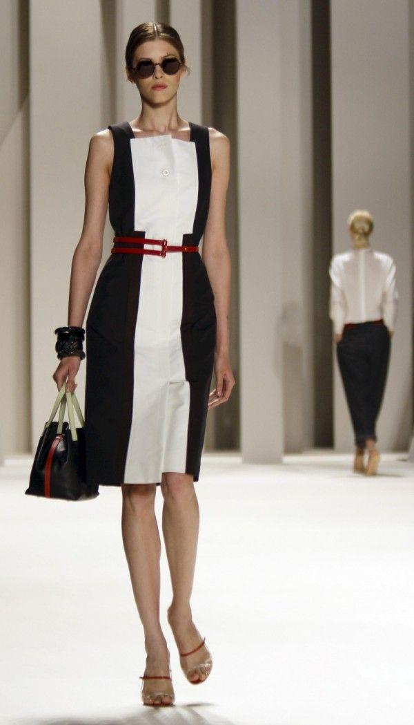 Zapatos para vestido negro y blanco