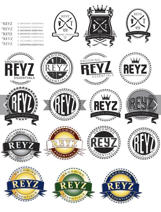 Logo designs by ME  #seal #logo #thumbnails