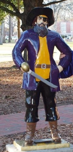 Missing Pee Dee the Pirate statue recovered | News - WCTI
