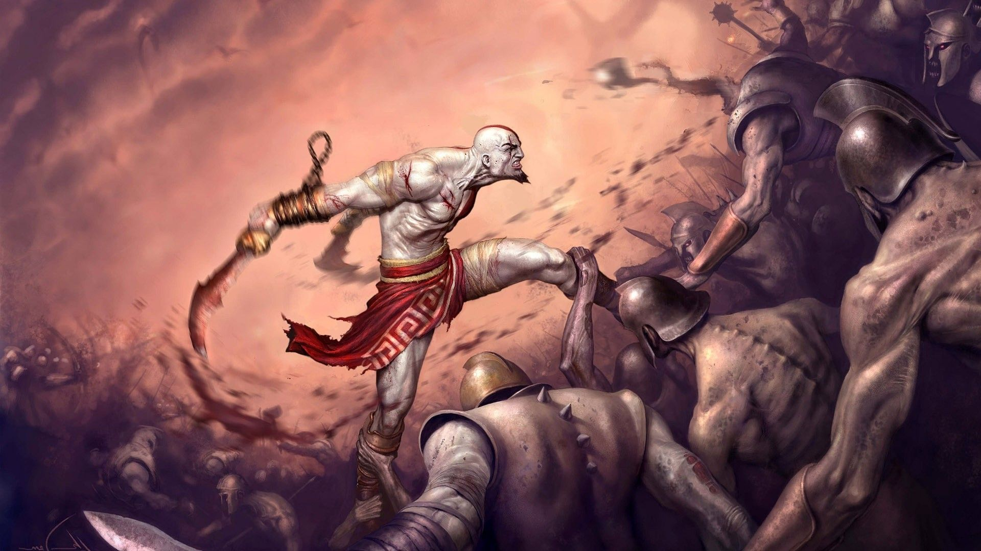 God Of War Wallpaper Kratos Hd Wallpapers Pinterest God Of War