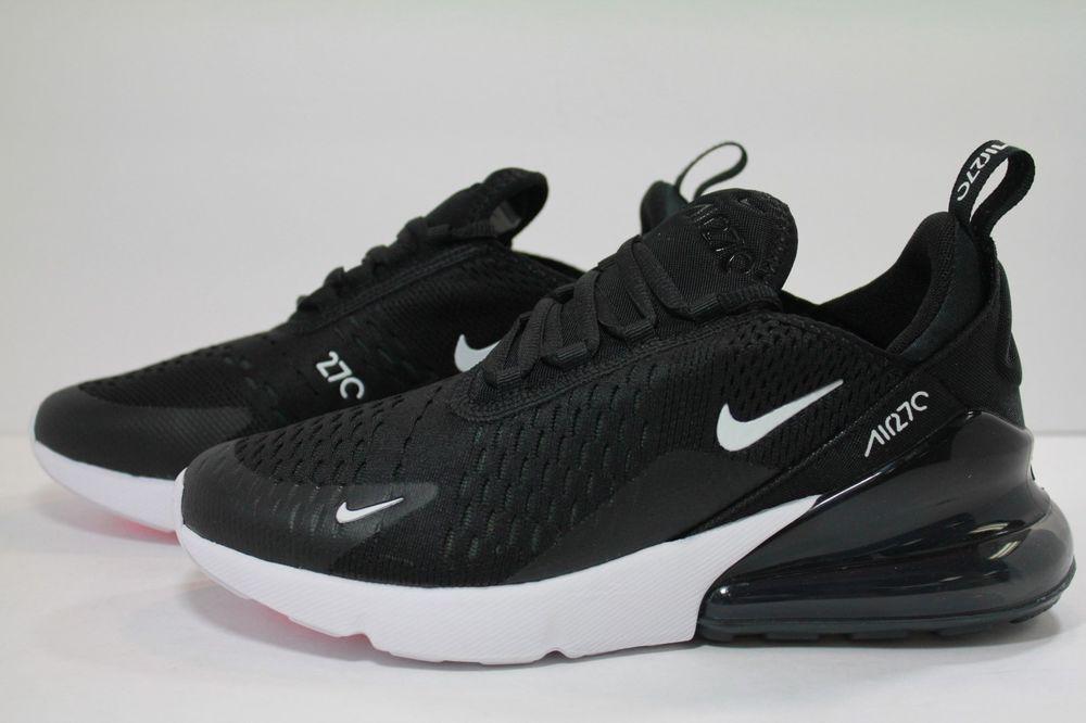 Nike Kid/'s Air Max 270 GS Black//White//Anthracite 943345-001