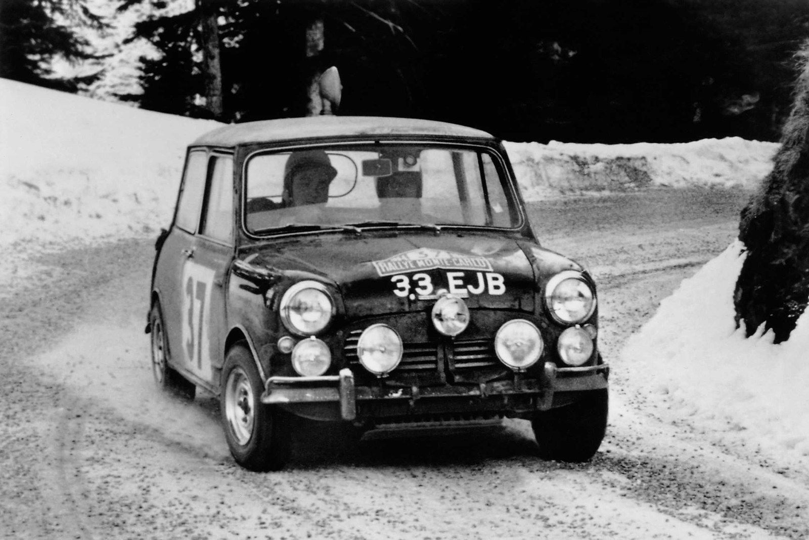 Mini Remembers Its First Monte Carlo Rally Win 50 Years On
