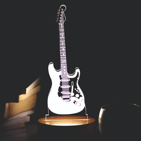 Guitar Chords 3d Led Acrylic Lamp Flower Delivery Online India S Leading Florist Company Frin In 2020 Same Day Delivery Gifts House Warming Ceremony Guitar Chords