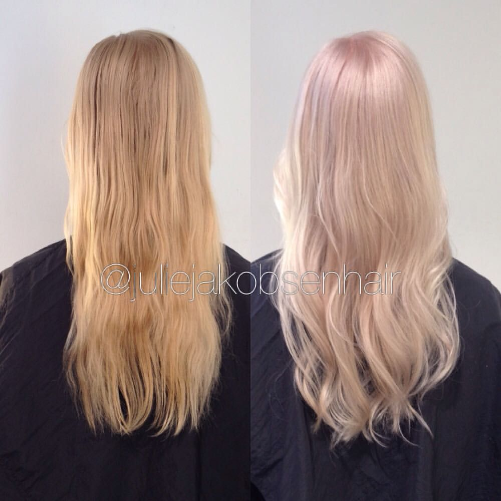 Loved This Change On My Friend Mari Koleston Special Blonde 35g 12 07 35g 12 61 20g 12 81 12 Global Color 35 40 Minute Haarfarben Haare Und Beauty Haare