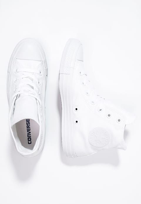 16fdb045f3 Converse CHUCK TAYLOR ALL STAR - High-top trainers - white for £49.99 (21/11/17)  with free delivery at Zalando