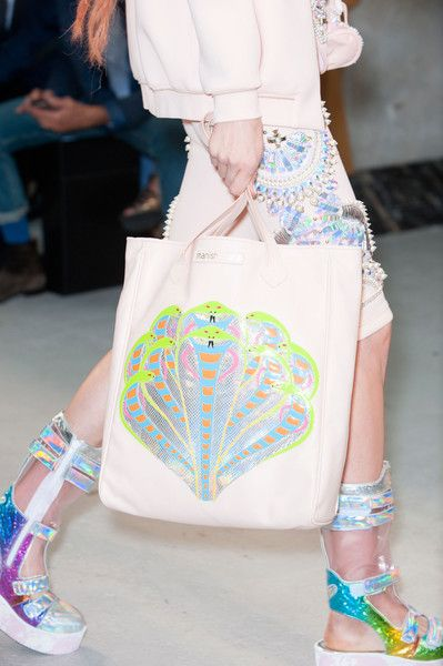 Manish Arora at Paris Fashion Week Spring 2015 - Details Runway Photos