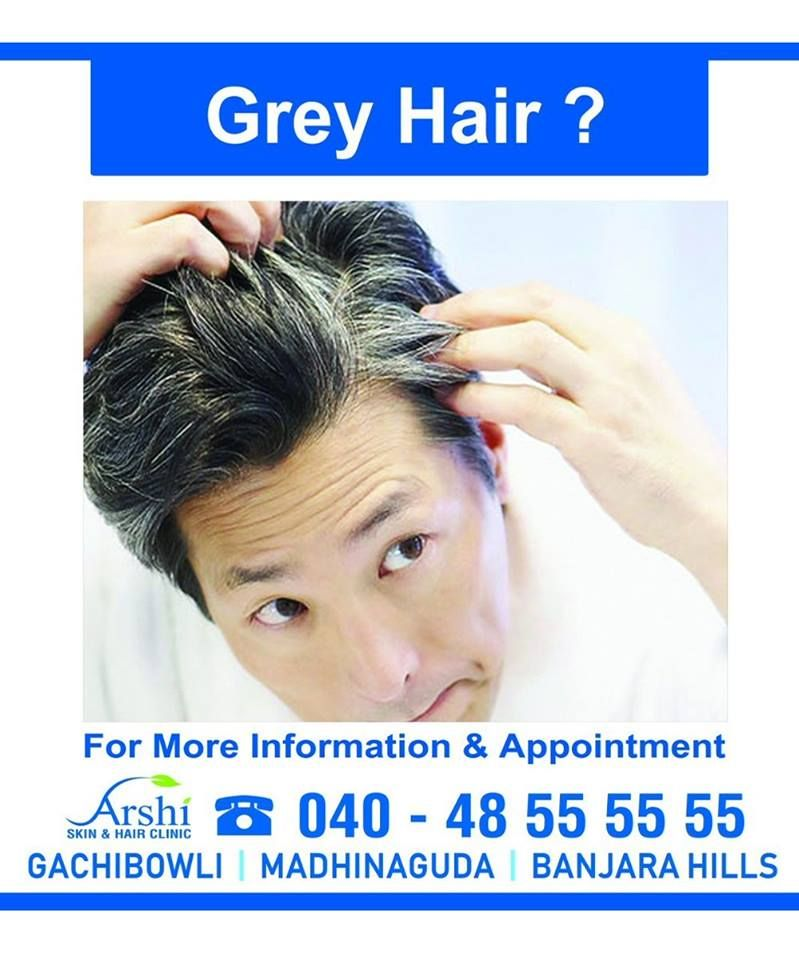 Worried About Your Grey Hair And Premature Hair Greying Dont Get Flustered The One Stop For All Kind Of Hair Skin And Hair Clinic Hair Clinic Hair Treatment