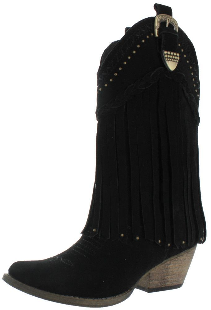 Very Volatile Frisky Women's Western Cowboy Boots Leather