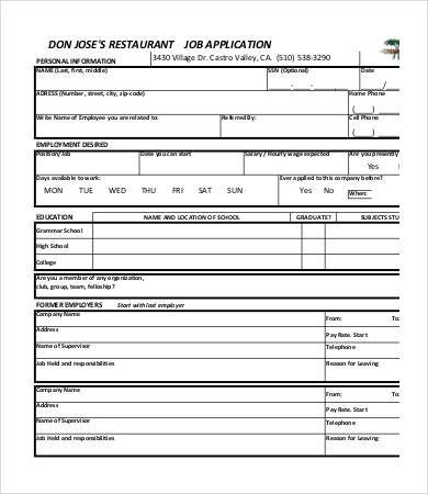 Printable Job Applications Check More At Https Cleverhippo Org Printable Job Applications