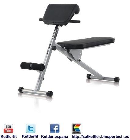 Vario 7411 550 1 kettler es una empresa alemana dedicada for Maquinas para gym