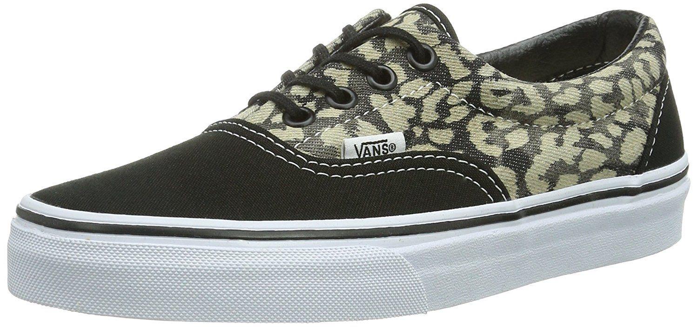 d5daec604f Vans Unisex Era (Washed) Leopard Black Skate Shoe 8.5 Men US   10 Women US      Check out this great product.