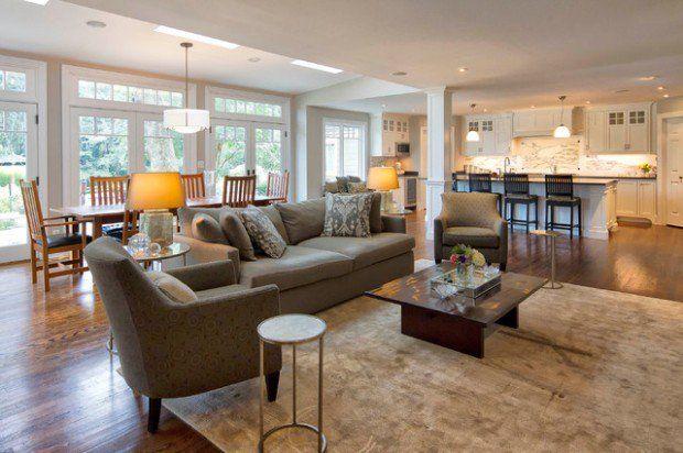 17 Open Concept Kitchen Living Room Design Ideas Kitchen Ideas