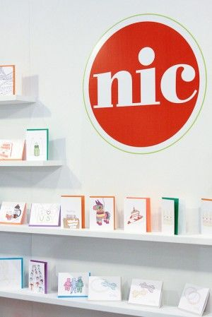 Nic Studio - Clean and simple booth and card display
