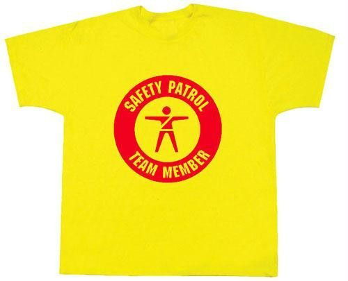 3696f3502 Safety Patrol Team Member T-Shirt | Safety Patrol | Safety, School ...