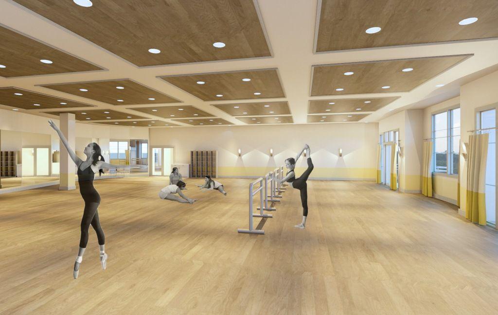 Dance Studio Room Ideas | architecture ex. projet final | Pinterest ...