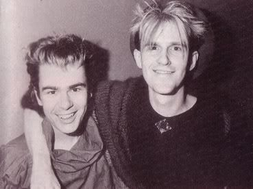Nik Kershaw and Howard Jones 1984.