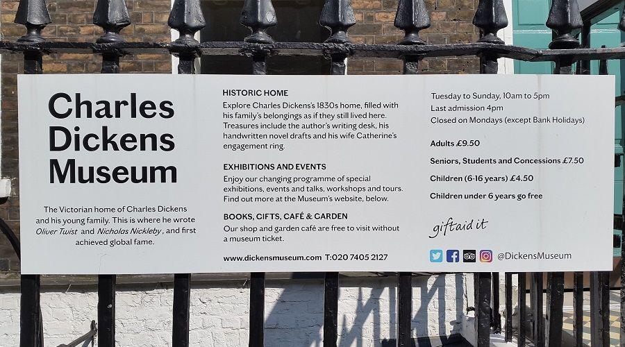 Charles Dickens Museum 20c39dd485f06a0243622f3882ddac33