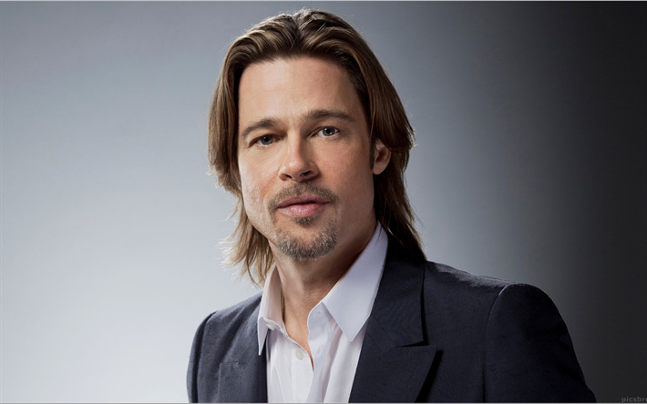 Download Wallpapers Brad Pitt 4k Portrait Hollywood Actors American Actor American Stars William Bradley Brad Pitt Prominente Amerikanische Schauspieler