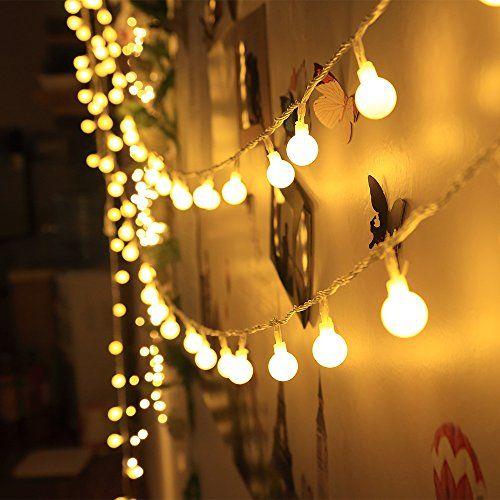Innoo Tech Guirlande d intérieur  LED Globe Décoration A s