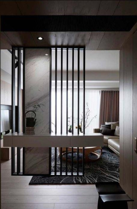 43 Stunning Modern Partition Design Ideas For Living Room Living