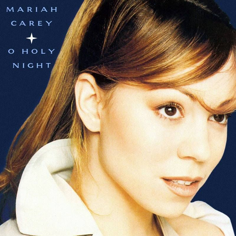 Mariah Carey O Holy Night European Single Cover Mariah Carey Pictures Mariah Carey Mariah