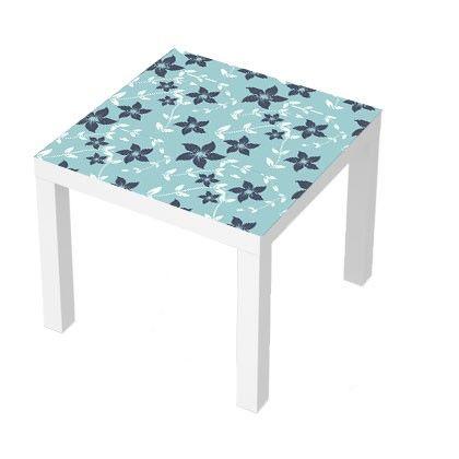stickers pour table basse lack 55x55. fleurs #deco #design #fun