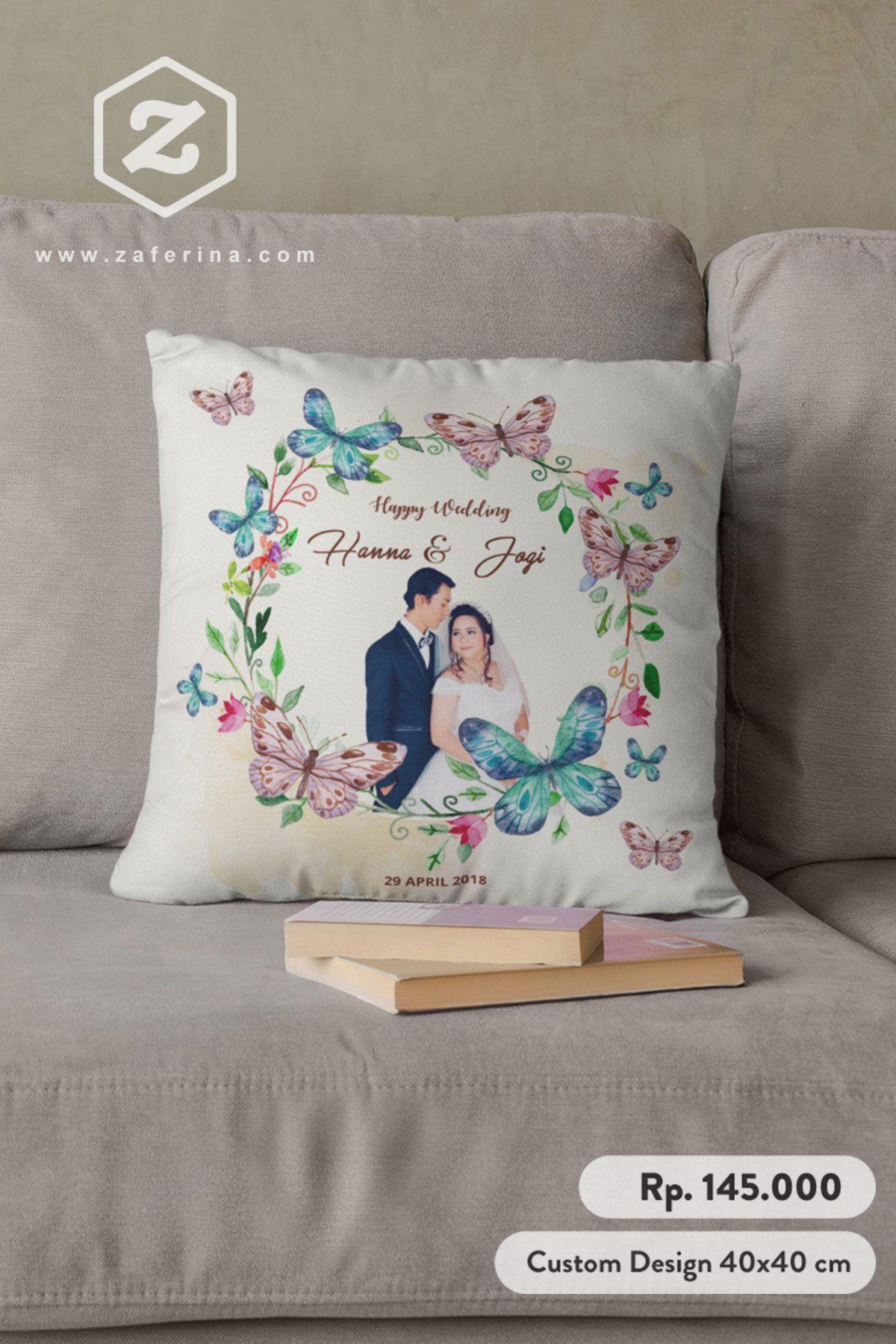 Kado Pernikahan Aneh Bantal Cantik Custom Design di 2020
