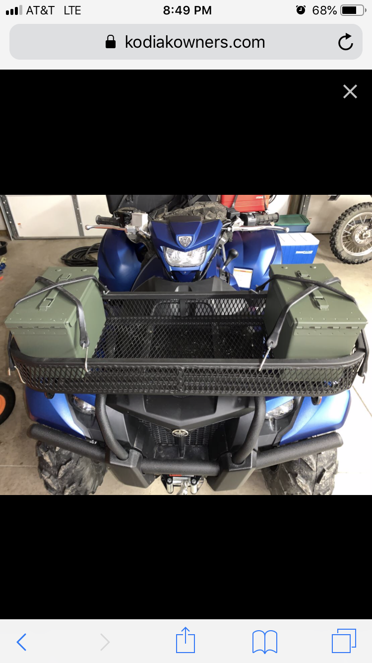 yamaha grizzly wiring diagram plug accessory 230w front basket rack for yamaha grizzly 700 16 19 and kodiak  basket rack for yamaha grizzly 700