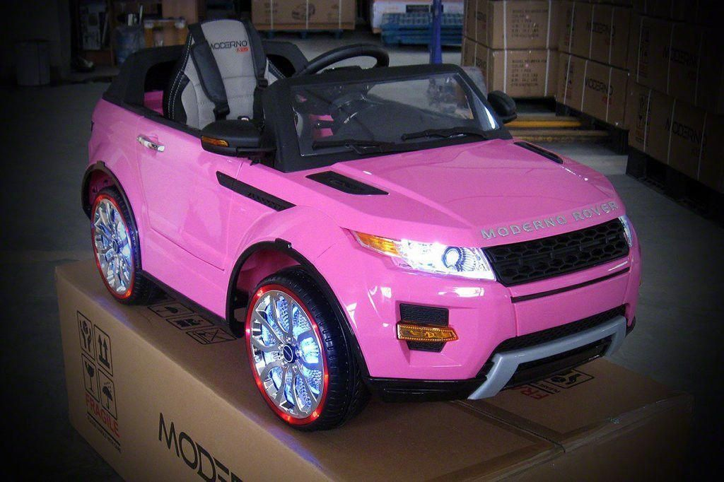 Pink Moderno Range Rover Style Driving Car Fully Loaded #pinkrangerovers Pink Moderno Range Rover Style Driving Car Fully Loaded #pinkrangerovers