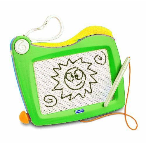 Fisher Price - Clip-on Doodle Pro Green