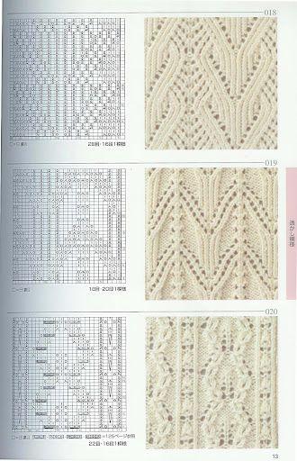 Japanese Lace Charts Knit Crochet Sew Oh My Knitting Patterns