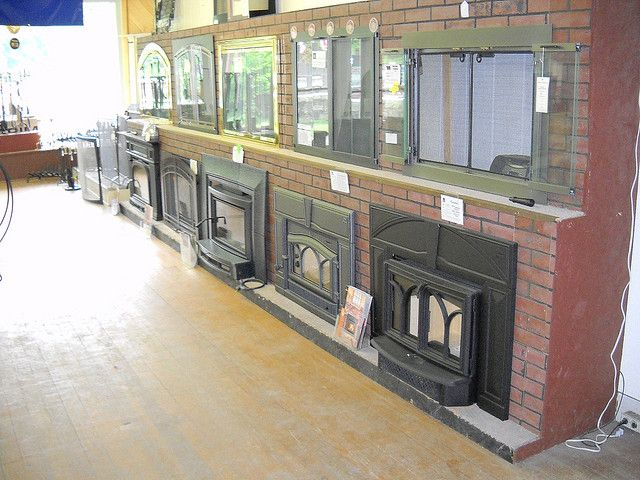 Fireplace Village Wood Stove Gas Insert Glass Door Flickr