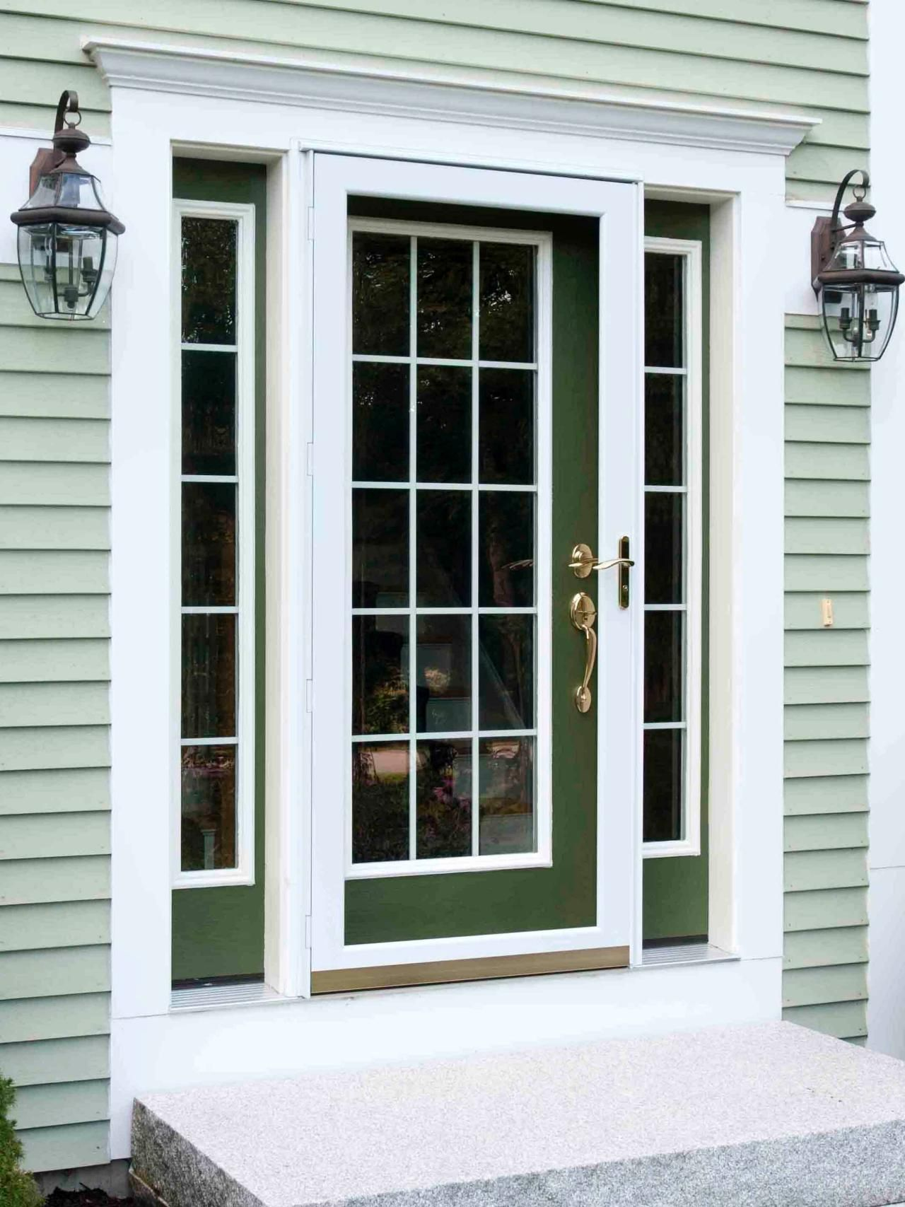 Popular colors to paint an entry door | Installing & Decorating Windows & Doors | DIY