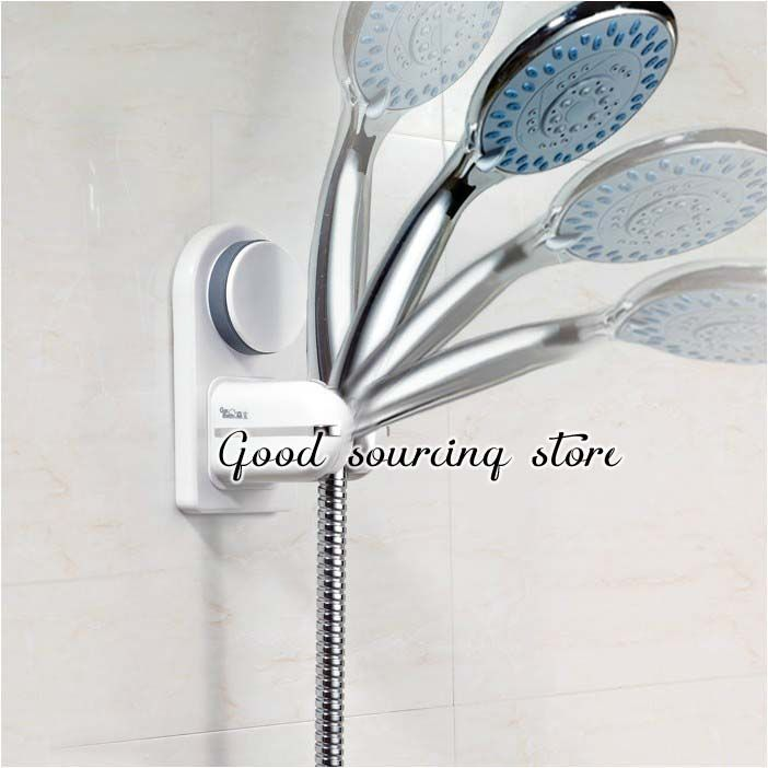 Merveilleux Wall Suction Cup Shower Holder, Hand Held Shower Head Fitting