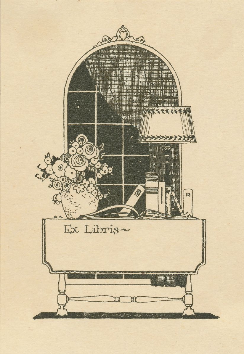 Letterpress Cat Ex Libris Bookplates Acid Free Made in the USA