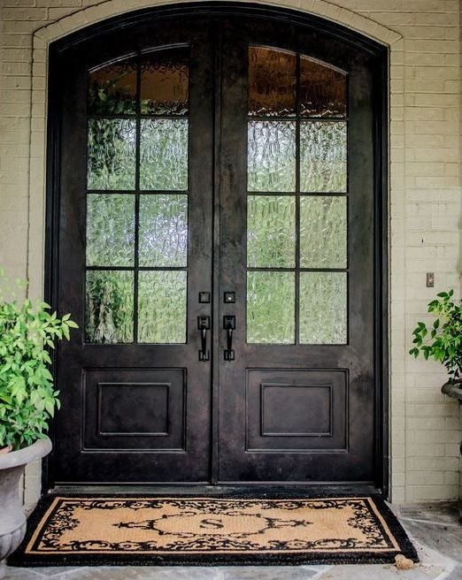 Welcome Front Entry Doors Double