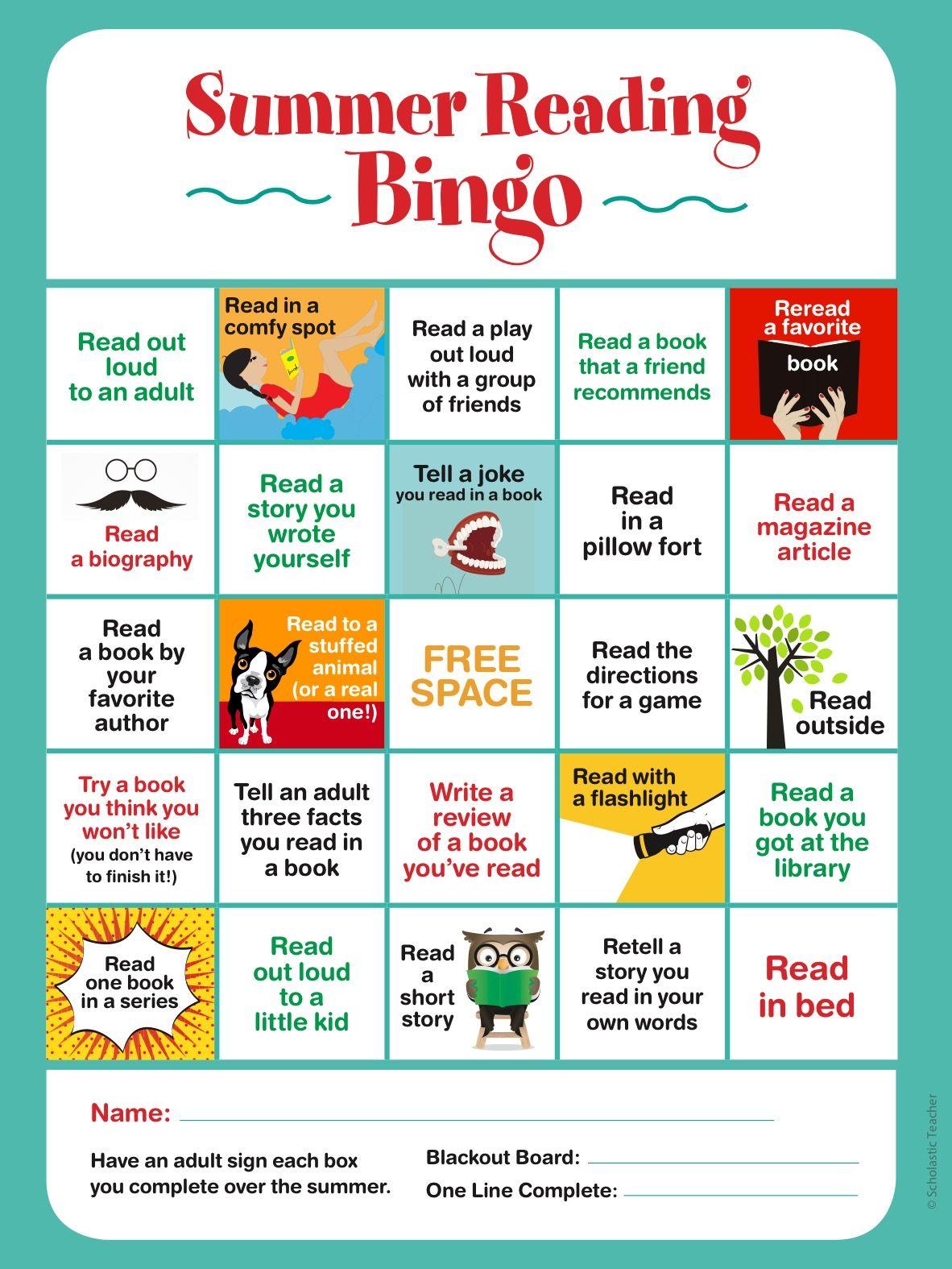 Twenty Five Great Ideas To Keep Kids Reading All Summer